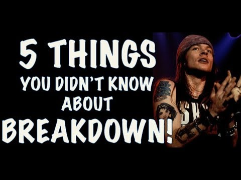 Guns N' Roses: 5 Things You Didn't Know About Breakdown Use Your Illusion 2
