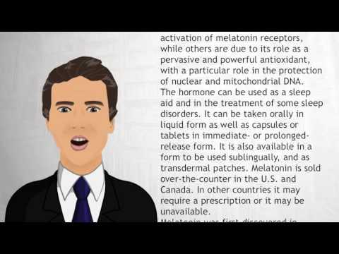 Melatonin - Wiki Videos
