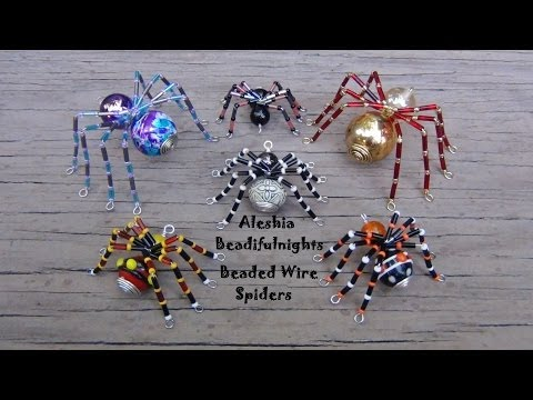 beaded-wire-spider-tutorial