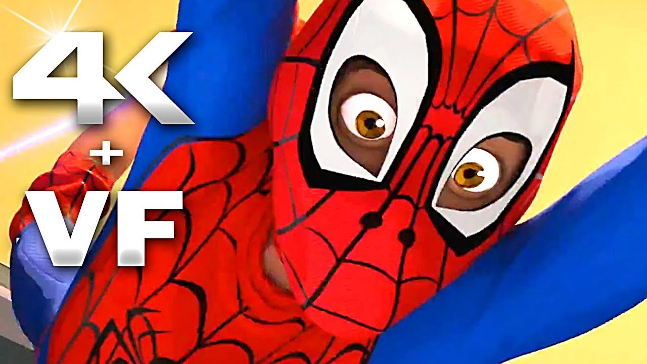 Spider man new generation bande annonce vf 4k nouvelle 2018 film d 39 animation youtube - Coloriage spider man nouvelle generation ...