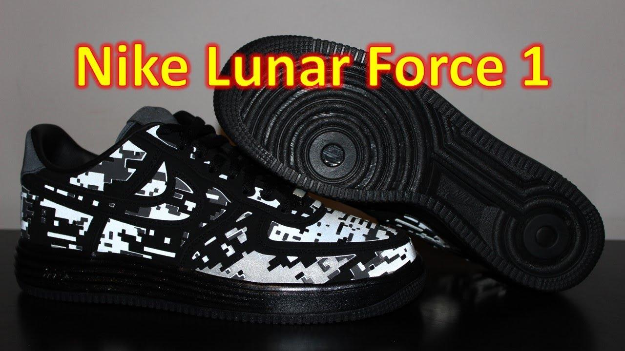 online store a6b34 1e00c Nike Lunar Force 1 Digi Camo - Review + On Feet - YouTube