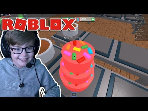 CHEF ETHAN GAMER BAKES A CAKE!! Roblox