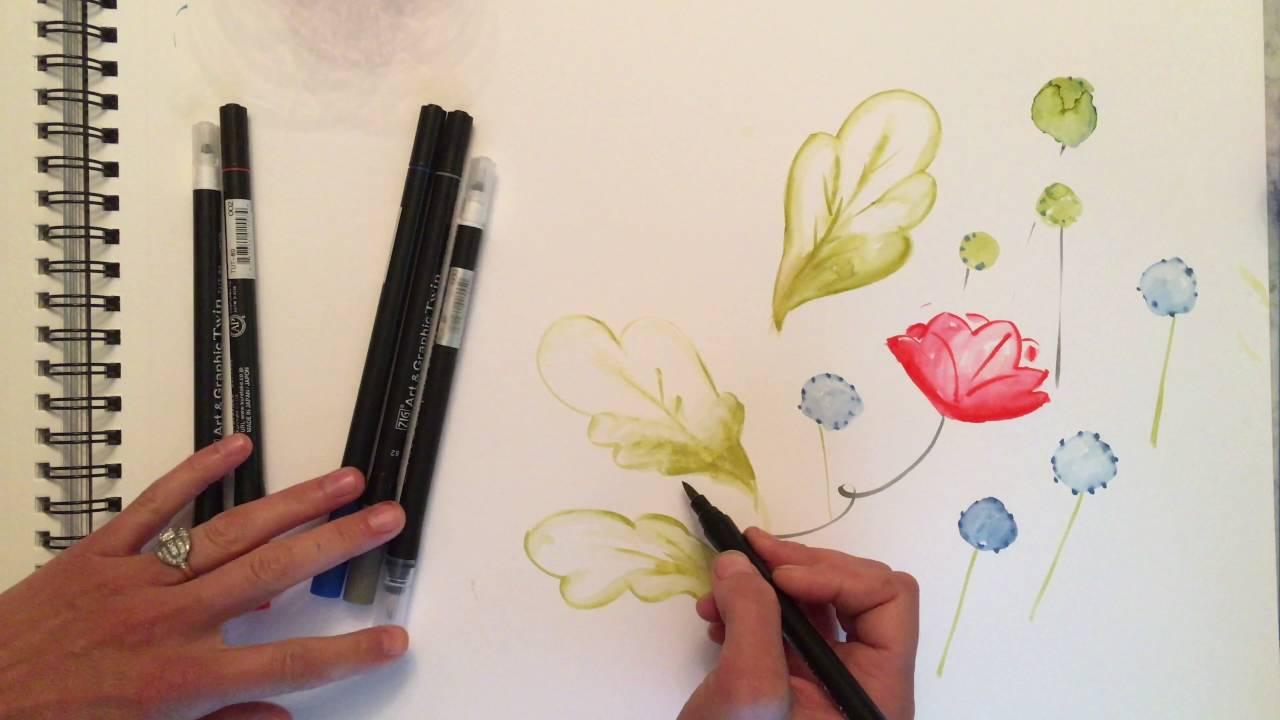 Kuretake Zig Art /& Graphic Twin Pen