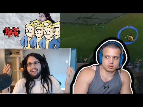 IMAQTPIE REACTS TO DOUBLELIFT'S VIDEO   SHIPHTUR INSANE BARON STEAL   MARC MERRILL TYLER1   LOL