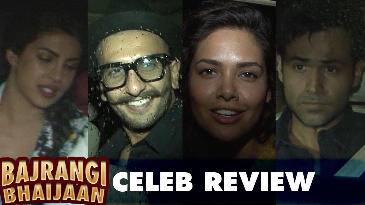 Bajrangi Bhaijaan | Celebrity review | Priyanka Chopra, Ranveer Singh, Emraan Hashmi