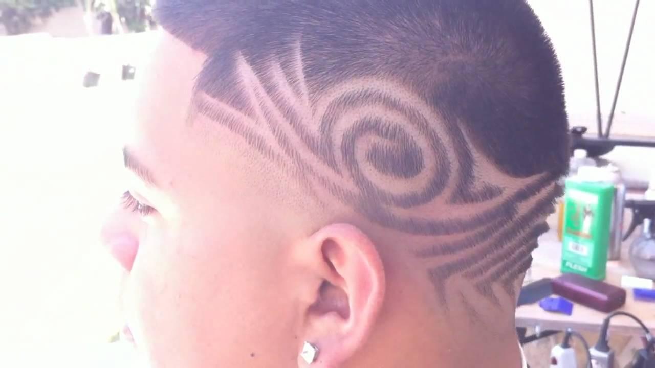 Crazy Hair Tattoo Design Youtube
