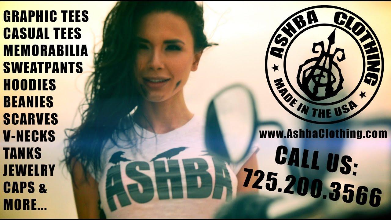 ASHBA CLOTHING Commercial   www.AshbaClothing.com