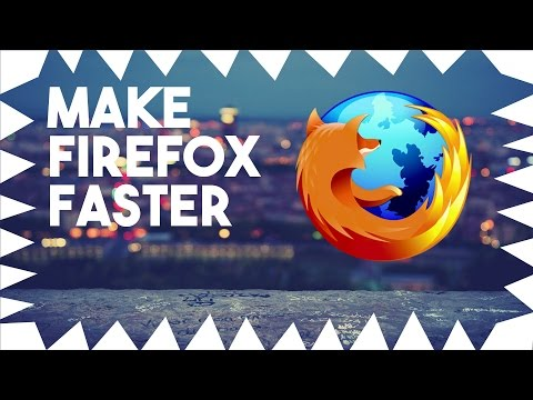 How to Make Mozilla FireFox Faster - (2016)