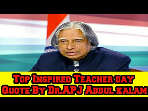 Happy Teachers Day Quotes By Drapj Abdul Kalam Top Inspired