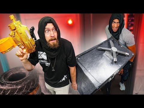 NERF Steal The Safe Challenge!