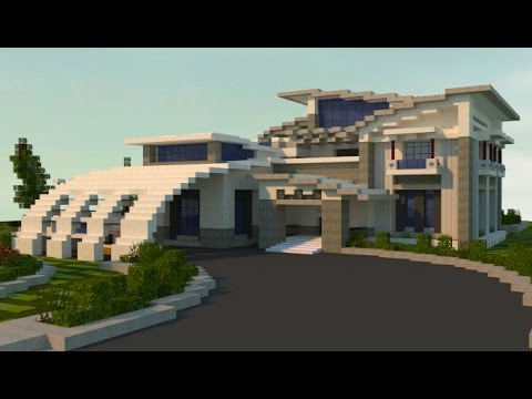 Minecraft How To Build A Modern House Best Modern House 2016 2017 Hd  Tutorial Mansion