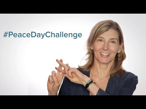 Take the Peace Day Challenge!
