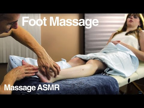 ASMR Massage Foot & Legs for Relaxation & Sleep