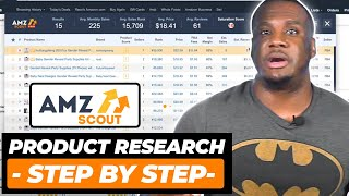 Step by Step Tutorial How To Find Profitable Amazon FBA Products Using AMZScout Pro