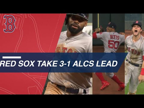 Red Sox win epic ALCS Game 4 against the Astros