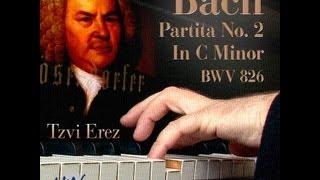 J.S. Bach Partita 2 in C Minor, BWV 826: Capriccio (6 of 6) | Tzvi Erez