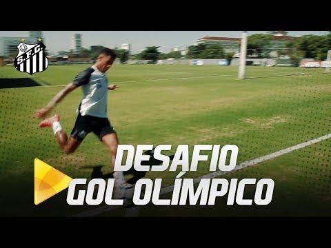 Desafio do Gol Olímpico com Rodrygo, Gabriel e Arthur Gomes