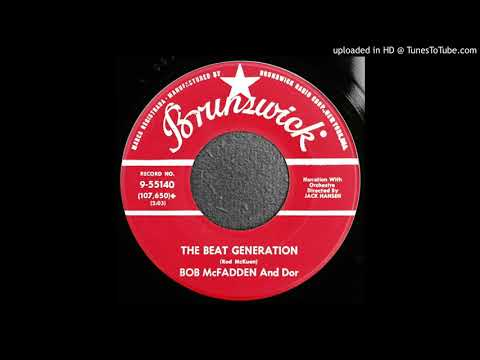 Bob McFadden & Dor - The Beat Generation - 1959 Beatnik Theme - Keroac