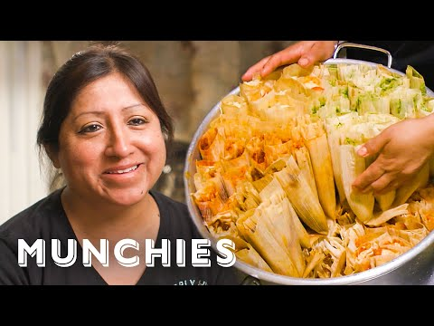The $1 Tamale Queen Of New York - Street Food Icons