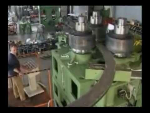 Metal Bending Machine >> Carell 314HV Angle Roll Bender Rolling Flat Bar Hardway ...