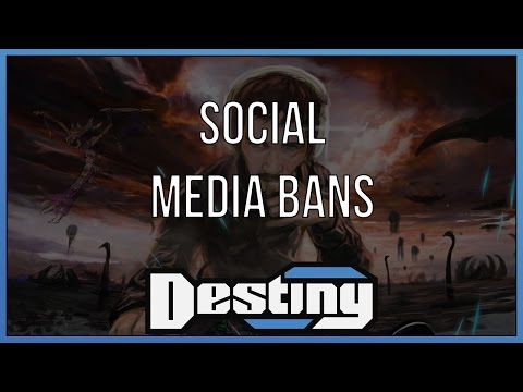 When is it okay for social media sites to ban users?