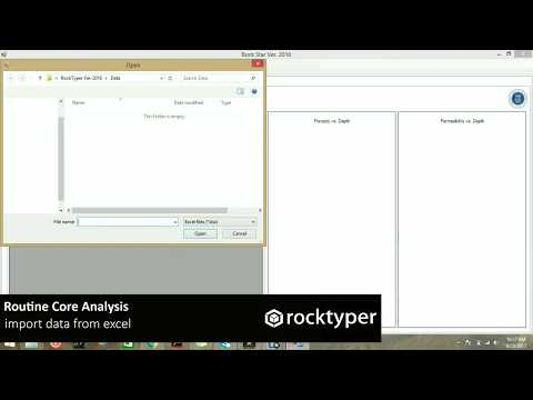 Free Rock Typing Software for Petroleum Engineer