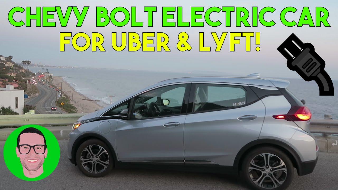My New Electric Car 2017 Chevy Bolt Ev Uber Lyft Rental