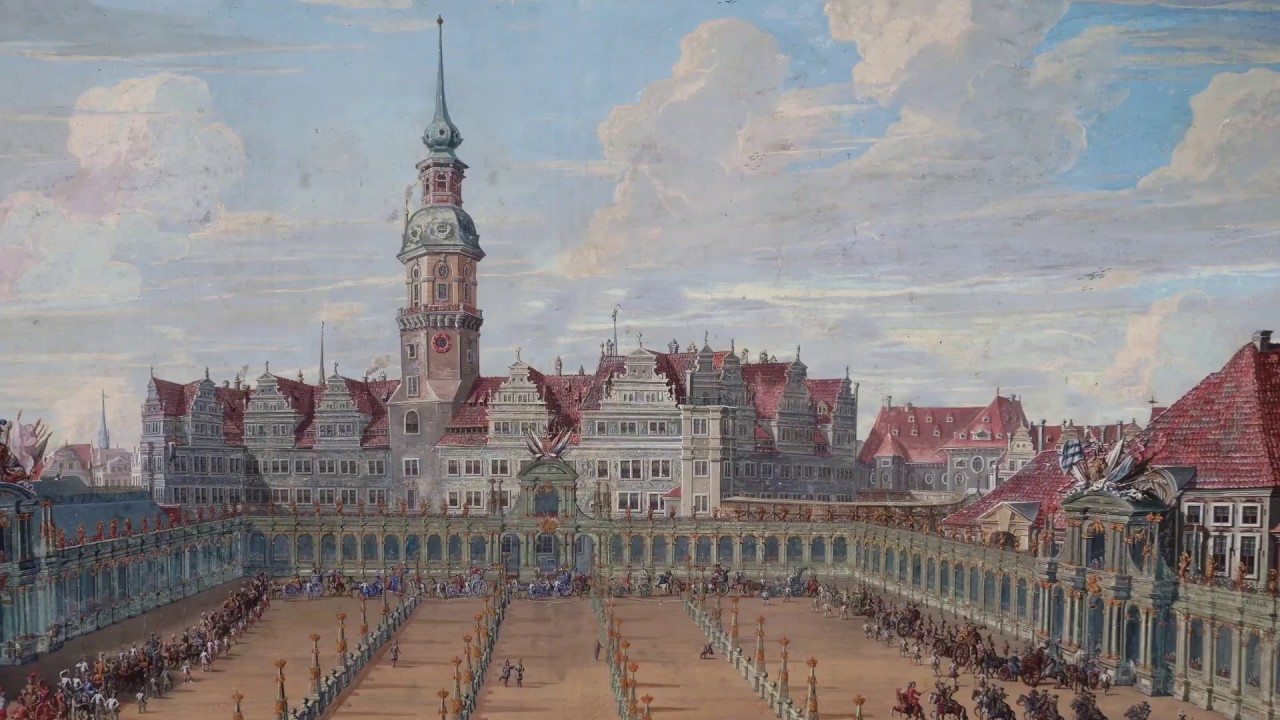 Die Festetage im Residenzschloss Dresden