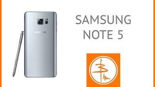Samsung Galaxy Note 5 або найповніший огляд-інструкція