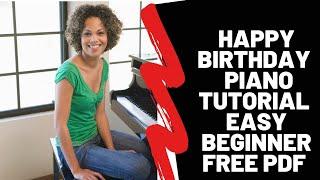 Happy Birthday Free Piano Sheet Music and Tutorial