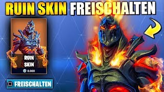 Ruin Skin 😱 Week 8 Mystery Skin Unlocked | Fortnite Season 8 English