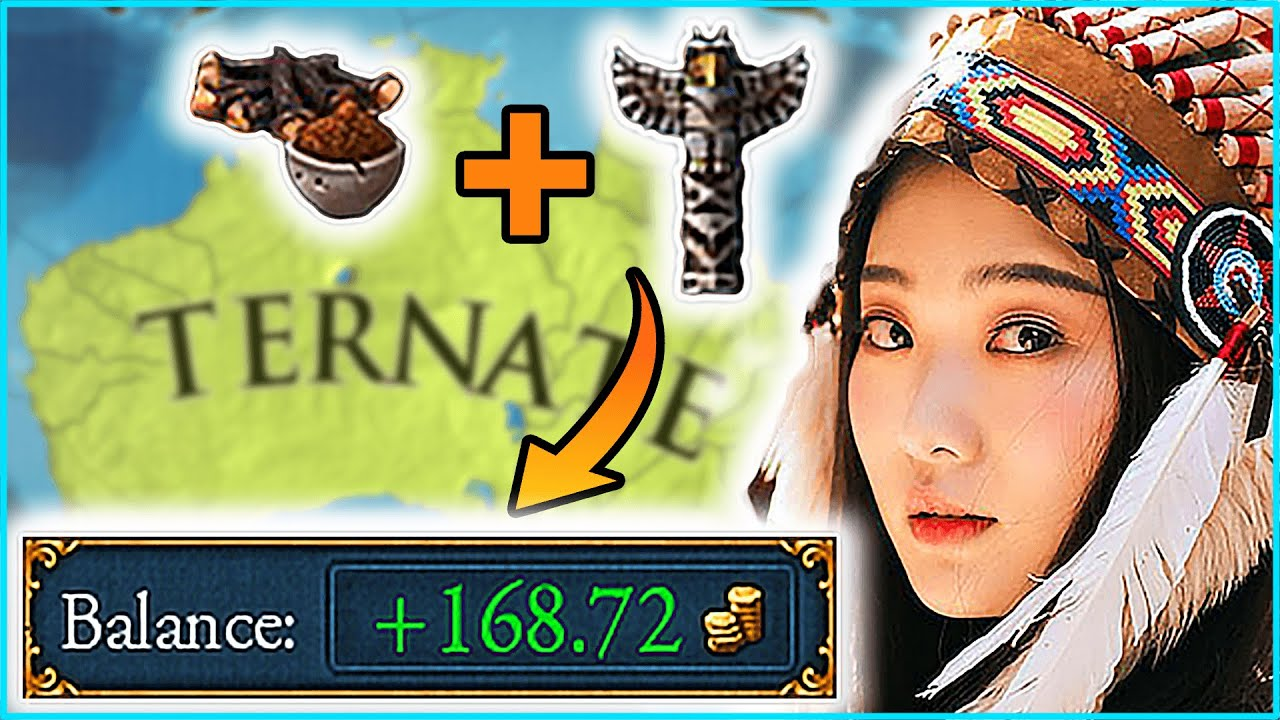 Download THIS 'Game Feature' Makes Totemist Ternate RIDICULOUSLY RICH Eu4 Guide
