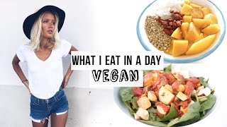 What I eat in a day (4) VEGAN & HEALTHY