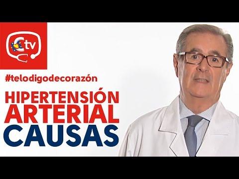 Tension arterial alta causas