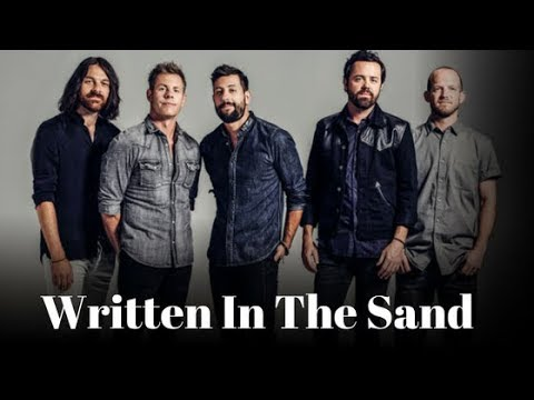 Written In The Sand (Lyrics) - Old Dominion