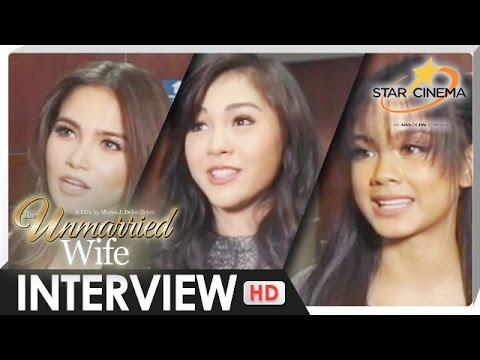 Interview - Janella Salvador, Elisse Joson, Ylona Garcia - 'The Unmarried Wife' - 동영상