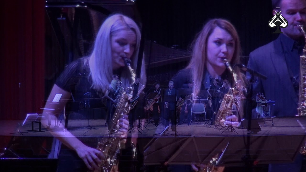 Adolphesax.com - AS Festival - SOS Saxophone Orquestra - Fantasia by Vid PUPIS. SOlois M. Skubin