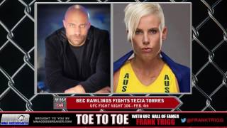 Frank Trigg Interviews UFC Fight Night 104's Bec Rawlings