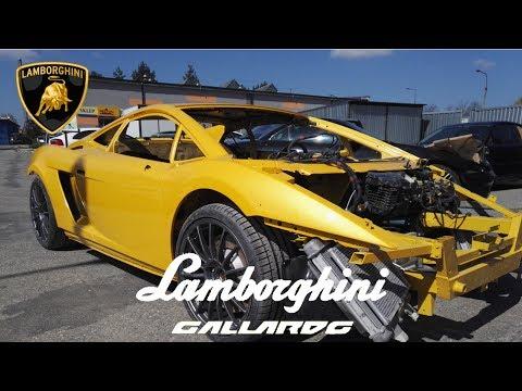 LAMBORGHINI GALLARDO Full  Car Paint Axalta Cromax Pro step by step