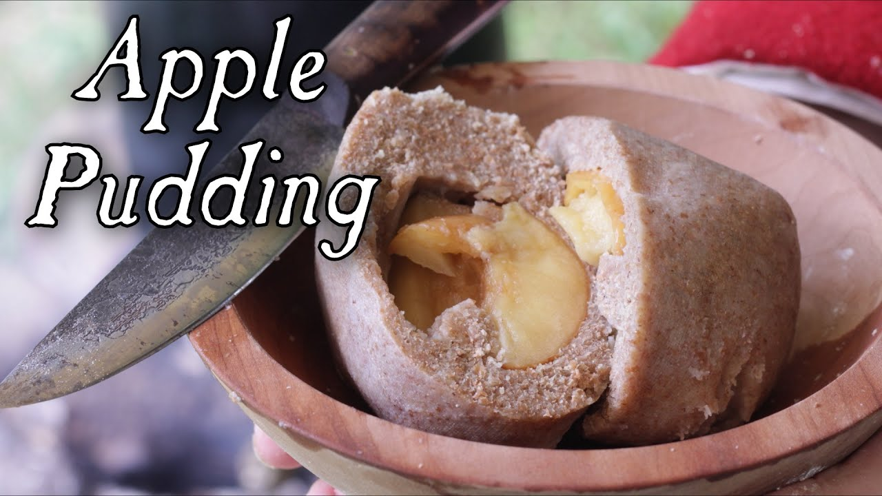 18th Century Cuisine Of Simple Apple Pudding 18th Century Cooking Soldier