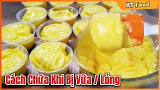 Bí Quyết Làm Bơ Ăn Bánh Mì Thịt 2019 Phiên Bản Dài  [Cách Chữa Bơ Khi Bị Hư- Vữa- Lỏng] Dễ Làm
