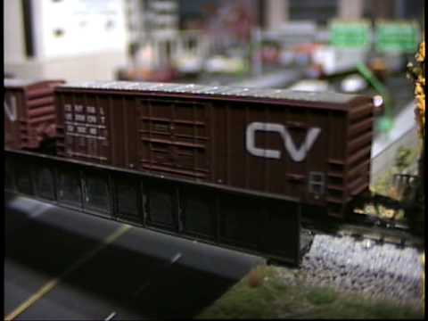 Mike's N Scale Railroad Layout