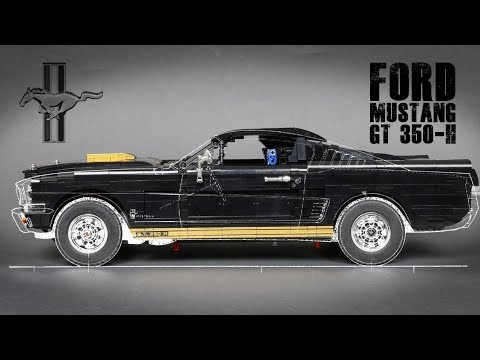 Lego RC Ford Mustang GT 350-H