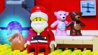 Lego Christmas Stop Motion - Homeless Santa Claus Fail
