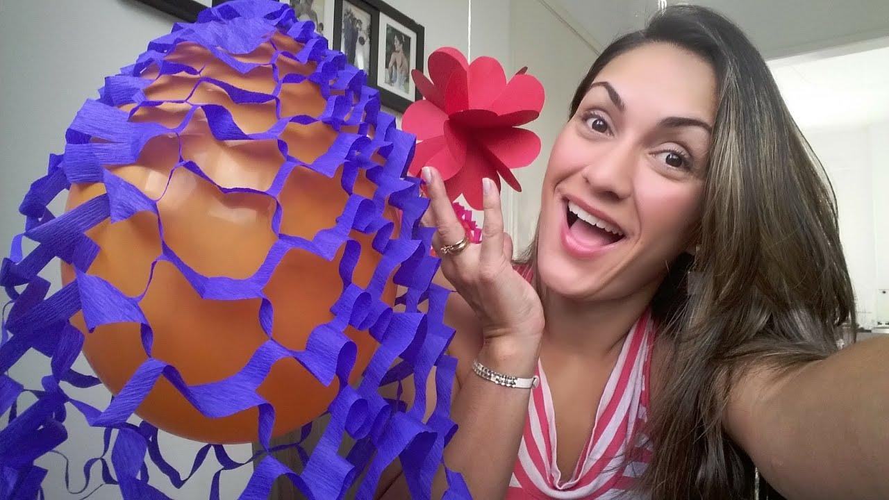 Decoraç u00e3o de Festa Junina (8 u00ba Parte) YouTube -> Decoração De Balões Festa Junina