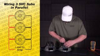 4 single coil ohm voice 3 subs wiring Subwoofer 101: