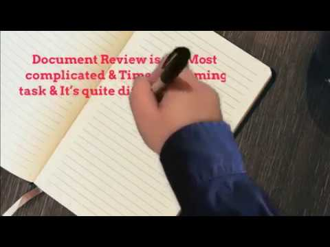 Legal Document Review Services Outsource To Cogneesol YouTube - Legal document review