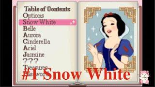 Nostalgic Disney Princess Gameboy Game: Snow White