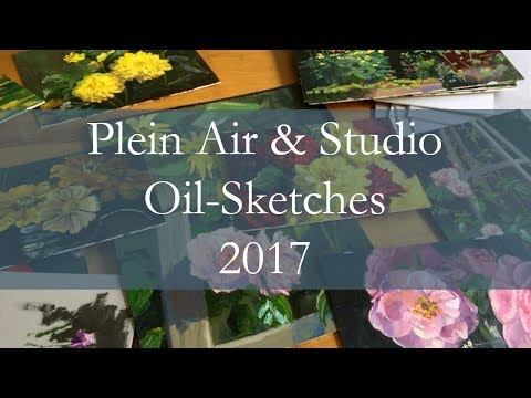 Plein Air and Studio Oil-Sketches