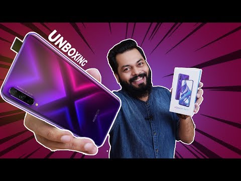 Honor 9X Pro Unboxing And First Impressions ⚡⚡⚡Popup Selfie, Kirin 810, AppGallery & More